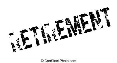 rubberstempel, pensioen