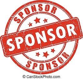 rubberstempel, sponsor