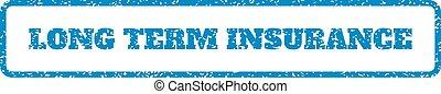 rubberstempel, termijn, verzekering, lang
