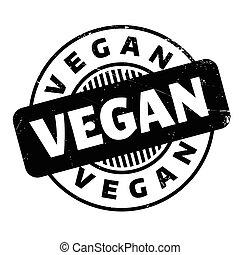 rubberstempel, vegan