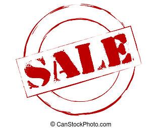rubberstempel, verkoop