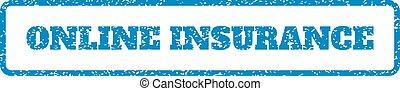 rubberstempel, verzekering, online