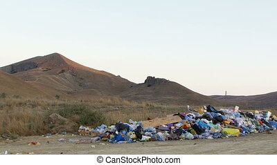 Rubbish - Pollution of our planet.