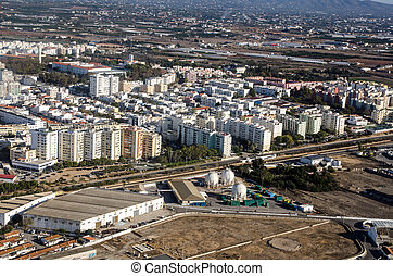 Rubis Energy, Faro - Aerial View - Aerial view of the Rubis ...