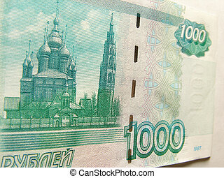 rubles, 1000