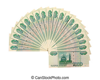rubles, 20000