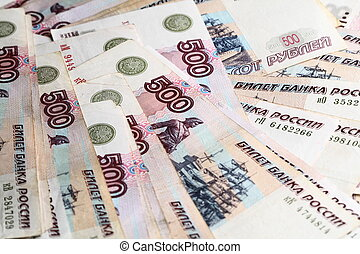rubles, 500