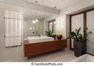 Ruby house - contemporary bathroom
