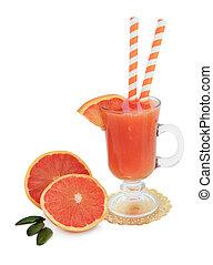Ruby Red Grapefruit Juice - Ruby red grapefruit juice drink...