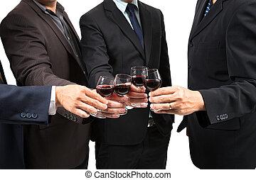 ruce, lidský, víno