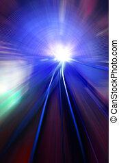 ruch, światła, szybkość