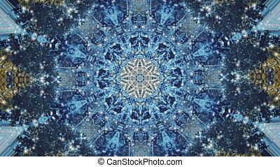 ruch, abstrakcyjny, tło, kalejdoskop