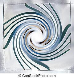 ruch, abstrakcyjny, tło