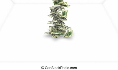 ruch, dolary, powolny, potok, na