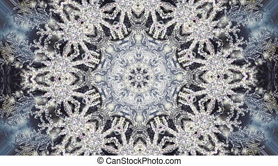 ruch, tło., abstrakcyjny, kalejdoskop