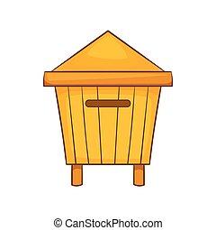 ic ne style dessin anim abeille style insectes vecteurs search clip art. Black Bedroom Furniture Sets. Home Design Ideas