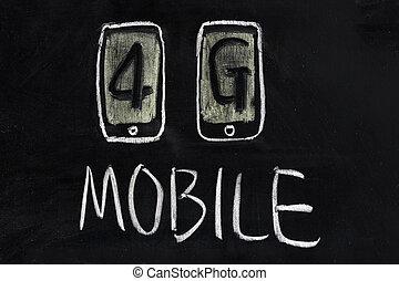 ruchomy, 4g, zakomunikowanie technologii