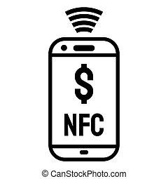 ruchomy, wpłata, smartphone
