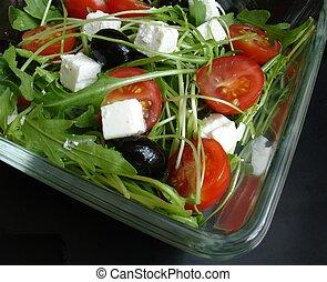 rucola salad 4