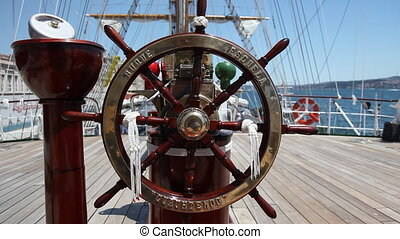 rudder 2 - the mexican navy and sail training ship...