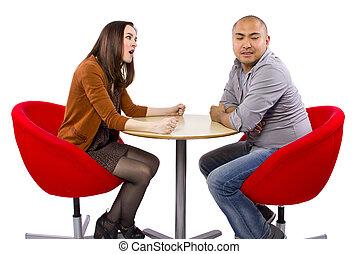 dating a disrespectful woman