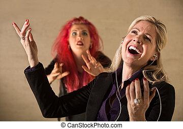 Rude Woman Singing