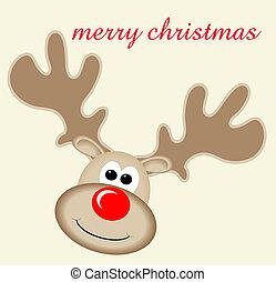 rudolph, クリスマス, 陽気