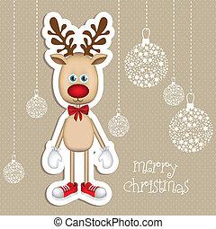 Rudolph the reindeer