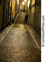rue étroite, stockholm
