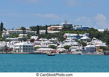 rue., bermudes, george