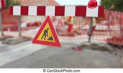rue, construction., sous