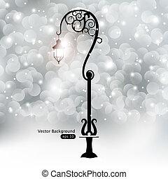 rue, lanterne