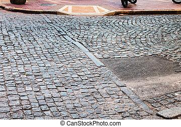 rue pavé