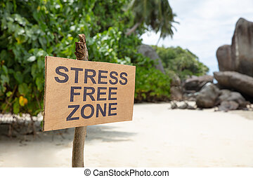 rue, plage, gratuite, zone, signe
