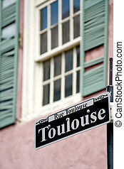 rue, toulouse