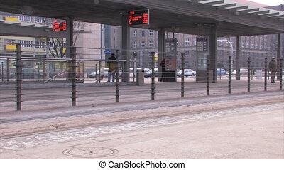 rue ville, trafic, européen