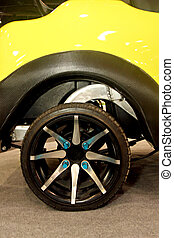 rueda, cars., eléctrico