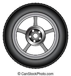 rueda de aleación, 2