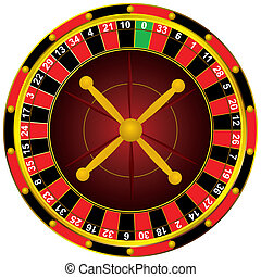 rueda de la ruleta, casino