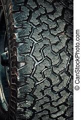 rueda, disco, caucho, fondo., coche, pattern., neumático, negro, neumáticos, textura suave