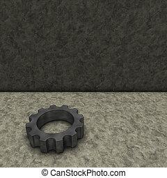 rueda, engranaje