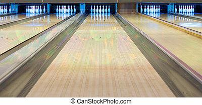 ruelle, bowling