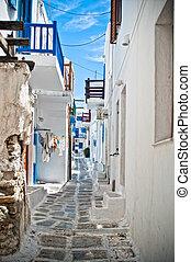 rues, mykonos