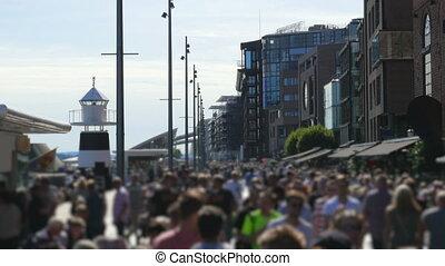 """rues, ville, marche, vieux gens, oslo, norway"""", en ville, """"pedestrian"""