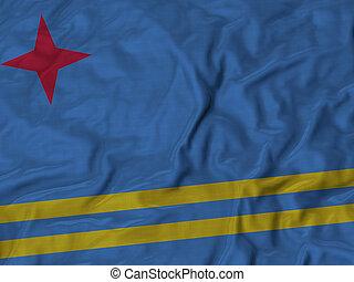 Ruffled Flag of Aruba
