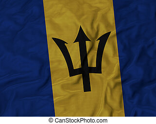 Ruffled Flag of Barbados