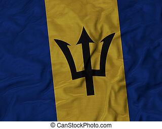 Ruffled Flag of Barbados