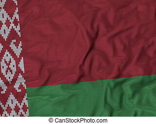 Ruffled Flag of Belarus