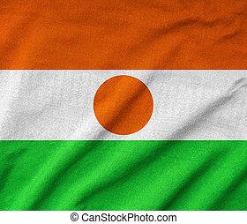 Ruffled Niger Flag