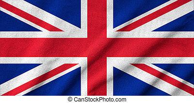 Ruffled UK Flag